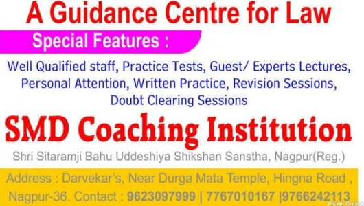 SMD Coaching Institution