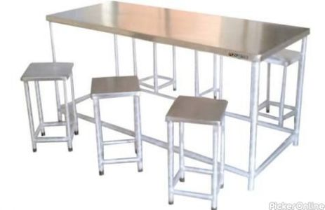 Om Steel - Stainless Steel And Wood Furniture