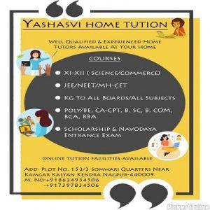 Yashasvi Home Tuitions