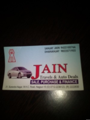 Jain Travels & Auto Deals