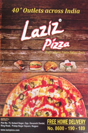 LAZIZ PIZZA Pace Where Taste Never End