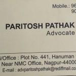 Advocate Paritosh Pathak