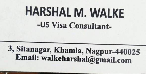 Harshal Walke - Visa Consultant in Khamla