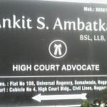 Ankit S. Ambatkar Advocate