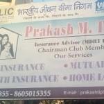 Prakash M.Tiple LIC Agent
