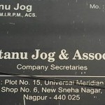 Shantanu Jog & Associates