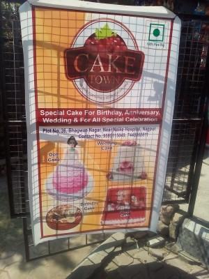 Cake Town in Bhagwan Nagar