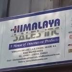 Himalaya Sales Inc