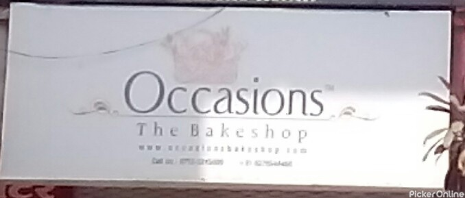 Occasions The Bakeshop