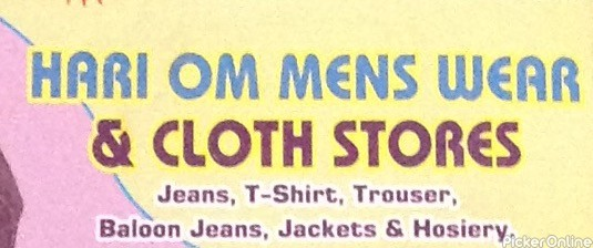 Hari Om Men's Wear & Cloth Stores