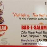 Bab E.Salam Bakers