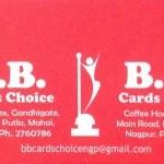 B.B. Cards Choice
