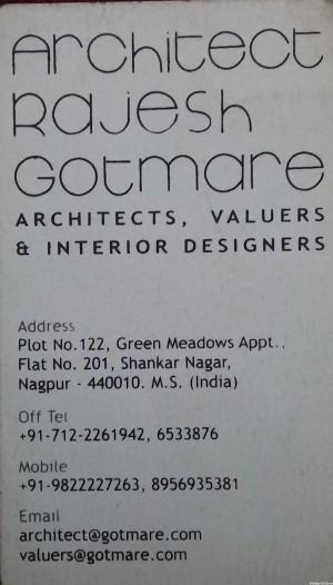Architect Rajesh Gotmare