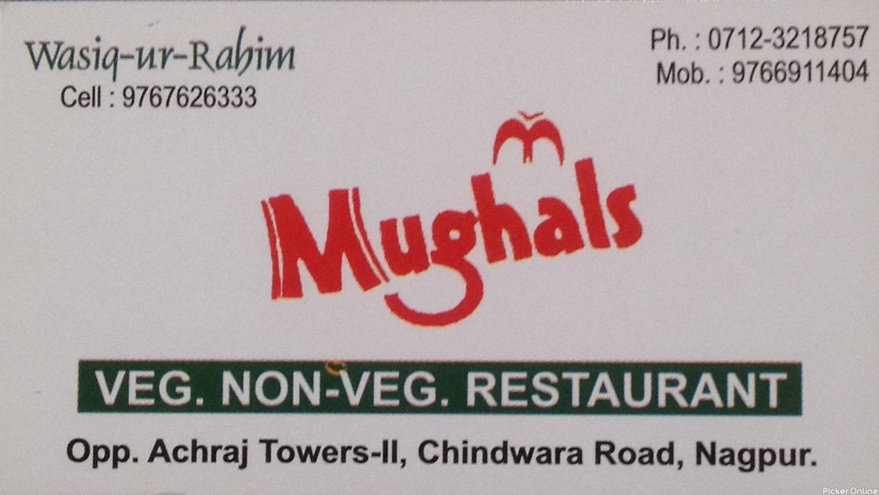 Mughals Veg Non Veg Restaurant In Nagpur Pickeronline