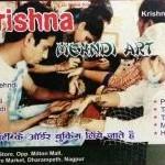 Krishna Mehndi Art