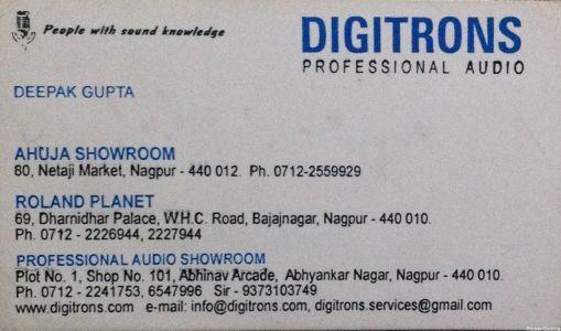Digitrons Professional Audio