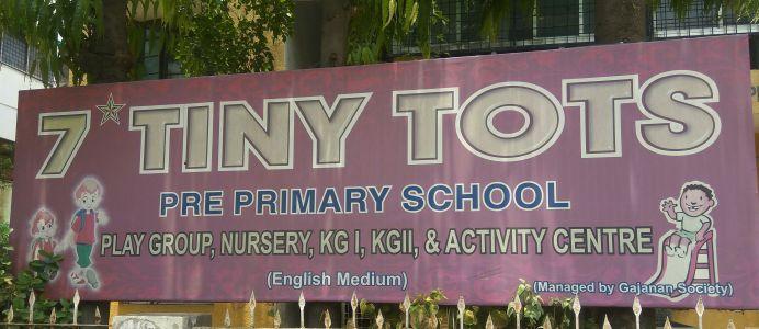7 Tiny Toys Pre Primary School