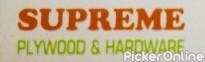 Supreme plywood & hardware