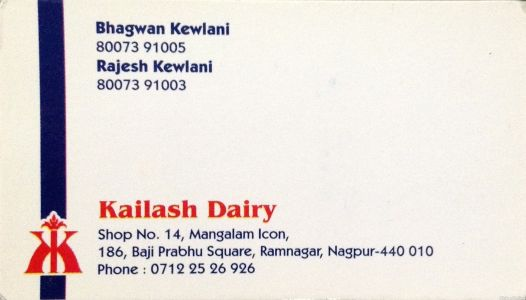 Kailash Dairy