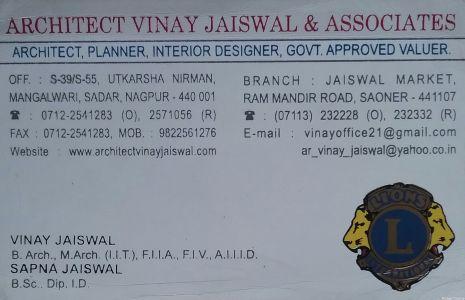 Architect Vinay Jaiswal And Associates