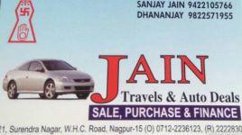 Jain Travels And Auto Deals