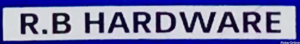 R.B Hardware Shop