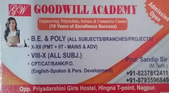 Goodwill Academy
