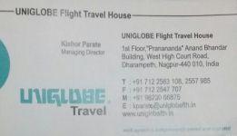 Uniglobe Flight Travel House