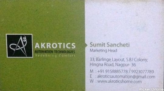 Akrotics Automation Technologies