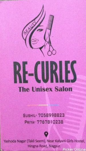 Re - Curles The Unisex Salon