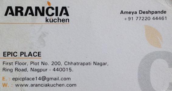 Arancia Modular Kitchen
