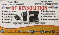 B T Key Solution