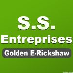 S. S. Enterprises Golden E-Rickshaw