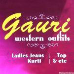 Gauri Western Outfits
