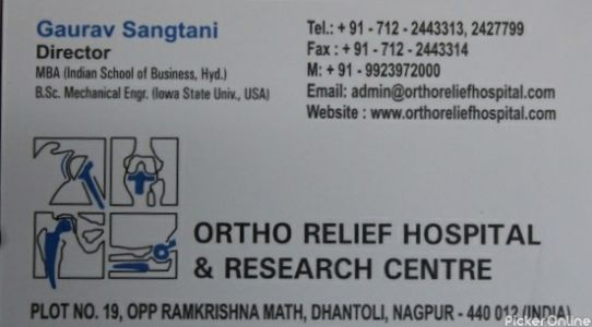Ortho Relief Hospital & Research Center - Knee Hip Replacement