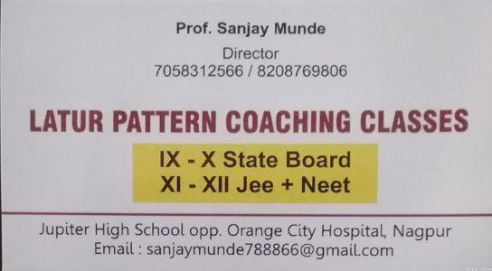 Latur Pattern Coaching Classes