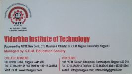 Vidarbha Institute of Technology