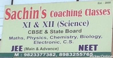Sachin's Coaching Classes