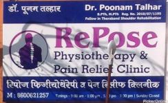Repose Physiotherapy And Pain Relief Clinic