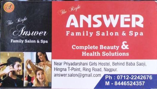 Answer Family Salon & Spa