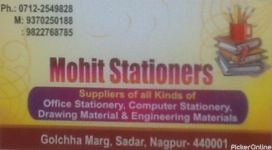 Mohit Stationers