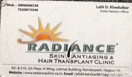 Radiance Skin Antiaging And Hair Transplant Clinic
