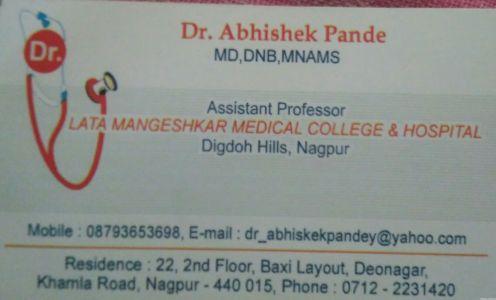 Dr. Abhishek Pande