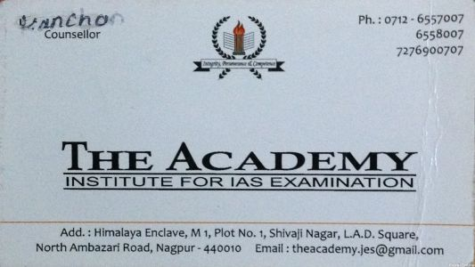 The Academy Institute for IAS Examination
