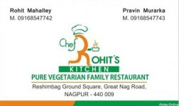 Chef Rohit kitchen