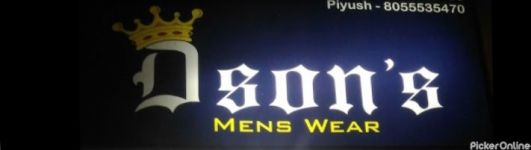 D Sons Mens Wear