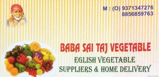 Baba Sai Taj Vegetables