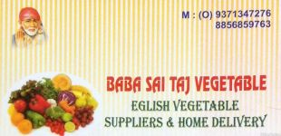 Baba Sai Taj Vegetables