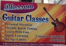 Blossom Guitar Classes