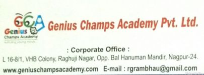 Genius Champs Academy Pvt. Ltd.